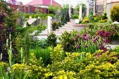 Beautiful rock garden Stock Photos