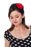 Beautiful Rockabilly Girl Stock Images