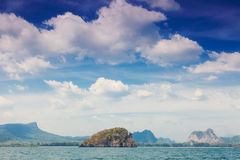 Beautiful rocks in the Andaman Sea Royalty Free Stock Photo