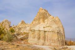 Beautiful rocks in Cappadocia, Turkey Royalty Free Stock Photo