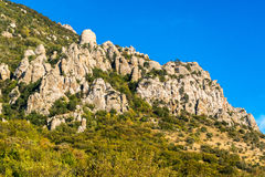 Free Beautiful Rocks In The Valley Of Ghosts, Demerdzhi Mountain Stock Photos - 80178393