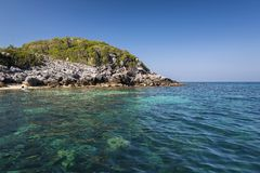 Beautiful rocks Island in Ang Thong National Park Stock Photography