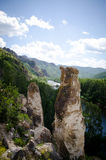 Beautiful rocks in Khakassia Royalty Free Stock Photo