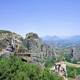 Beautiful rocks Meteora Stock Images