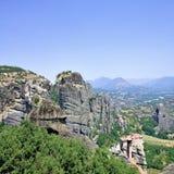 Beautiful rocks Meteora Stock Images