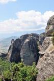 Beautiful rocks Meteora in Greece. Royalty Free Stock Photo