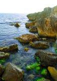 Beautiful Rocks in the Sea Stock Photos