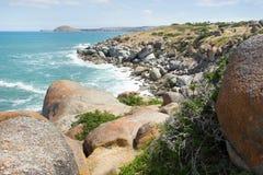 Beautiful rocky beach Royalty Free Stock Photo