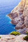 Beautiful rocky coast in Mallorca Stock Photo