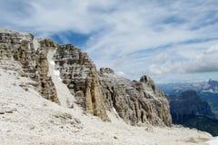 Beautiful rocky mountain royalty free stock photos