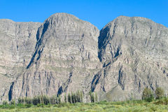 Beautiful rocky mountain in Tilcara, Argentina Stock Images