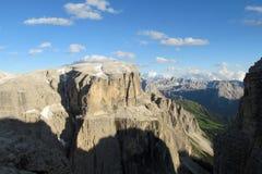 Beautiful rocky mountains view royalty free stock photo