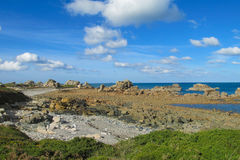 Beautiful rocky sea island Royalty Free Stock Photos