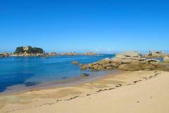 Beautiful rocky sea island Royalty Free Stock Photo