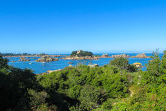 Beautiful rocky sea islands Royalty Free Stock Images