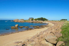 Beautiful rocky sea islands Stock Photo
