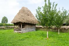 Romanian traditional house Royalty Free Stock Image