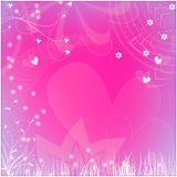 Beautiful romantic background Stock Photography