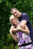 Beautiful romantic couple Royalty Free Stock Photo