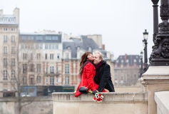 Beautiful romantic couple Stock Images