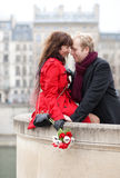 Beautiful romantic couple Stock Photography