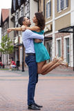 Beautiful romantic couple Royalty Free Stock Images
