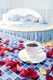 Beautiful Romantic Hotel Suite Interior Stock Photos