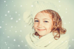 Beautiful romantic little girl Royalty Free Stock Photos