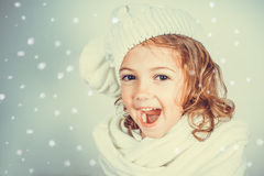 Beautiful romantic little girl Stock Photography