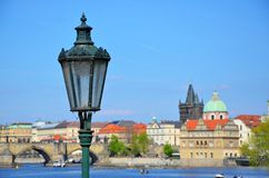 Beautiful and romantic Prague Stock Photography