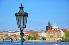 Beautiful and romantic Prague Stock Photography