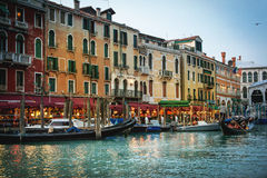 Beautiful romantic Venice Stock Images