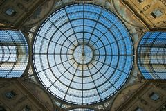 Beautiful Roof. A beautiful roof in an ancient building in Milan Stock Photography