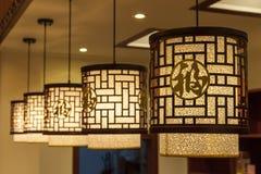 BEAUTIFUL ROOF LAMP Royalty Free Stock Photos