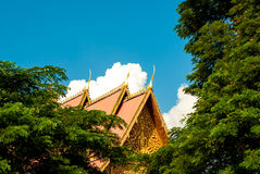 Beautiful roof next to the Great Stupa in Vientiane, Laos Stock Image