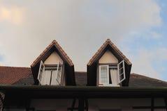 Beautiful Roof. Street View Of Berjaya Hill Stock Image