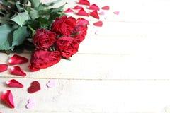 A beautiful rose border royalty free stock photo