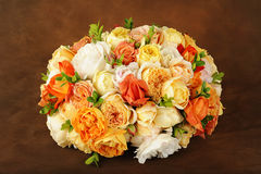 Beautiful rose bouquet royalty free stock photography