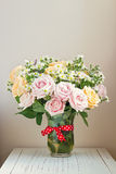 Beautiful rose bouquet Royalty Free Stock Images