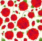Beautiful rose pattern Stock Images