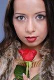 beautiful rose woman Στοκ φωτογραφία με δικαίωμα ελεύθερης χρήσης