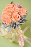 Beautiful roses bouquet Stock Photography