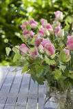 Beautiful roses bouquet in the garden Royalty Free Stock Image