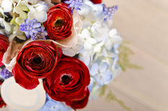 Beautiful roses bouquet Stock Images