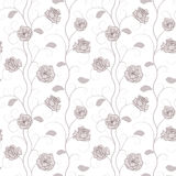 Roses Seamless Pattern Royalty Free Stock Photography