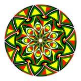 Beautiful round geometric ornament Stock Photography