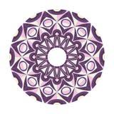 Beautiful round geometric ornament Royalty Free Stock Image