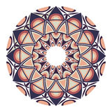 Beautiful round geometric ornament Royalty Free Stock Photography