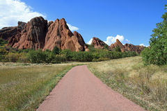 Beautiful Roxborough State Park Royalty Free Stock Photography