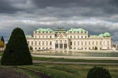 Beautiful royal palace Schönbrunn. In Vienna Royalty Free Stock Photos